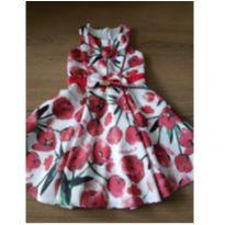 Vestido floral lilica repilica - 4 anos - Lilica Ripilica