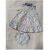 Vestido + Calcinha  Tulipa  G Infantil Bugbee - 9 a 12 meses - Bugbee