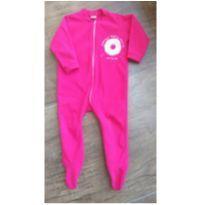 Macacão Pijama Menina - 2 anos - Não informada