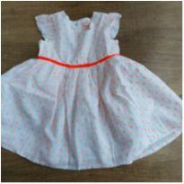 Vestido Infantil Impecavel Baby Club - 12 a 18 meses - Baby Club