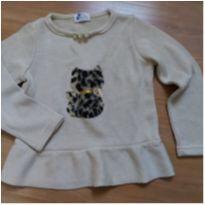 Blusa Infantil Nova Tricot - 1 ano - Não informada