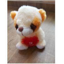 Ursinho de Pelucia com coração NOVO -  - Não informada