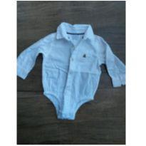 Body Camisa Bebe Gap Menino - 12 a 18 meses - GAP e Gap Kids