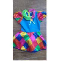 Vestido - Fantasia Menina - 4 anos - Não informada