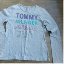 Manga Longa Menina Tommy - 12 anos - Tommy Hilfiger