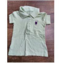 Camiseta Polo de Menina - 2 anos - Polo Wear