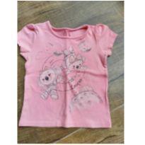 Camiseta de Menina Lilica Ripilica - 12 a 18 meses - Lilica Replica e Lilica Ripilica Baby