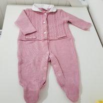 Macacão nude - 3 a 6 meses - Noruega Baby