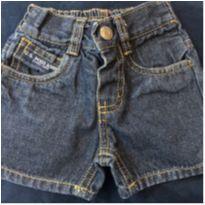 Bermudinha jeans - 6 a 9 meses - US Polo Assn