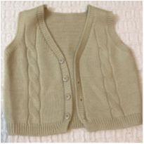 Coletinho de lã - 3 a 6 meses - Fofinho