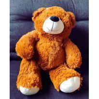 Urso de pelúcia caramelo 50cm -  - Não informada