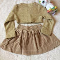 Bolero com saia - 2 anos - Kiki Xodó