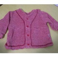 casaco de plush - 0 a 3 meses - Oliva