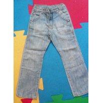 Calça jeans Tigor Tam 04 com elástico ajustável - 3 anos - Tigor T.  Tigre
