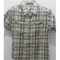 Camisa xadrez tamanho 03 - 3 anos - Milon