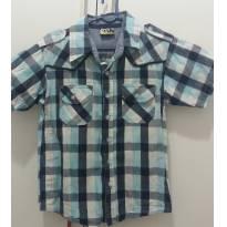 Camisa xadrez tamanho 4 - 4 anos - Boys