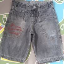 Bermuda jeans cinza Tam 04 - 4 anos - Outros