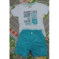 Conjunto bermuda e camiseta tam 03 - 3 anos - LePetit