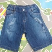 Bermuda jeans Tam 4T corresponde a 3 anos - 3 anos - Vrasalon
