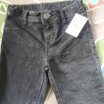 Bermuda Jeans Preta Tam 04 - 4 anos - Pool Kids