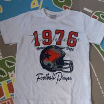 Camiseta manga curta TAM 04 nova somente lavada - 3 anos - Outros