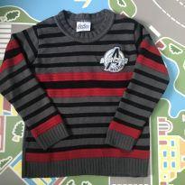 Suéter / blusa de lã tam 4 - 4 anos - Avengers