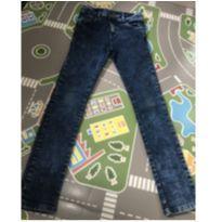 Calça jeans tamanho 10 - 10 anos - Figurinha Boys
