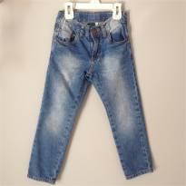 Calça Jeans - 4 anos - Figurinha