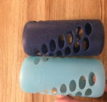 Protetores de mamadeiras em silicone Dr Brown`s - Sem faixa etaria - Dr Brown`s
