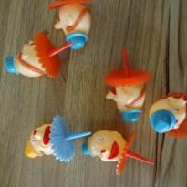 Festa Circo - topper para cupcake Palhacinhos -  - Não informada