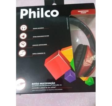 Fone Philco Vermelho Dobrável - Sem faixa etaria - PHILCO