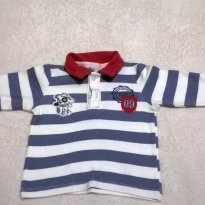 Camiseta Polo Discovery Kids - 9 a 12 meses - discovery kids