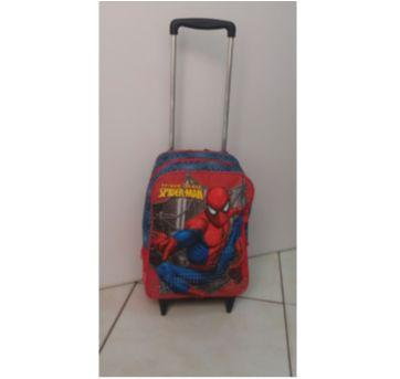 Mochila de rodinha Spider Man - Sem faixa etaria - Sestini