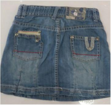 Saia jeans chicco - 2 anos - Chicco