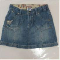 Saia jeans chicco - 2 anos - Chicco