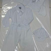Conjunto batizado bebê - 0 a 3 meses - Não informada