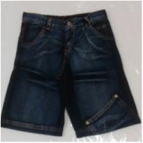 Bermuda jeans Tamanho 6 - 3 anos - Não informada