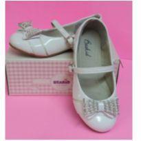 Sapato verniz branco tamanho 26 - 26 - BEAKID