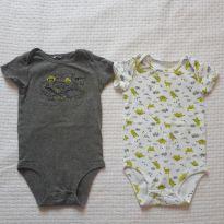 Bodies Carters - 3 a 6 meses - Carters - Sem etiqueta