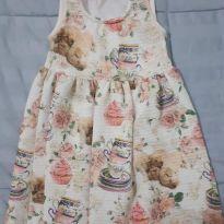 Vestido fresquinho e delicado - 2 anos - Kiki Xodó