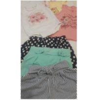 Combo 3 conjuntinhos fashion - 24 a 36 meses - Paraíso Moda Bebê
