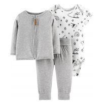 Conjunto Carters microfibra fleece  bebê 9 meses - 9 meses - Carter`s
