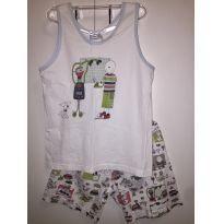 pijama curto infantil - 7 anos - Sonhart