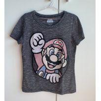 Camiseta Super Mario - 10 anos - Riachuelo