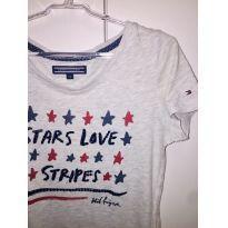 Camiseta da Tommy - 8 anos - Tommy Hilfiger