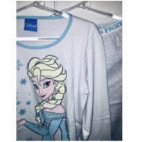 pijama longo da frozen - novo - 10 anos - Riachuelo