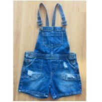 jardineira macaquinho jeans da zara - 7 anos - Zara