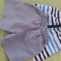 Shorts - 6 a 9 meses - etiqueta foi cortada