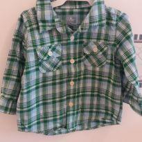 Camisa - 9 a 12 meses - Baby Gap