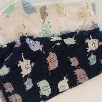 2 shorts elefantinho - 3 a 6 meses - Grow up